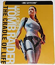 Tomb Raider: The Cradle of Life (4k Ultra HD and Blu-ray) Steelbook -No Digital