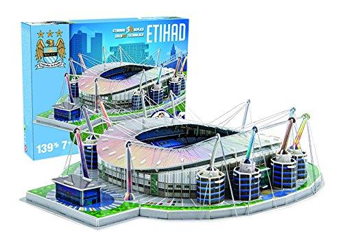 Giochi Preziosi 70037451-3D Stadion-Puzzle Etihad Manchester City