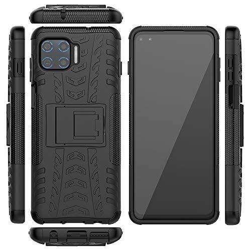Capa protetora XYX Armor para Motorola One 5G, capa protetora contra quedas de camada dupla de borracha para Moto G 5G Plus, preta