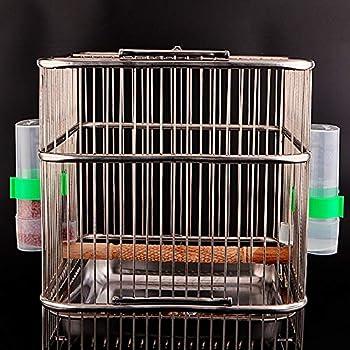 Jixista Abreuvoir À Oiseaux Automatique Mangeoires Piège à Eau Automatique pour Oiseaux Fournitures pour Cages à Oiseaux Accessoires pour Cages Nourriture Fournitures pour Cage à Oiseaux