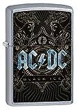 Zippo Classic Lighter-AC/DC Feuerzeug, Messing, Individual Design, Original Pocketsize