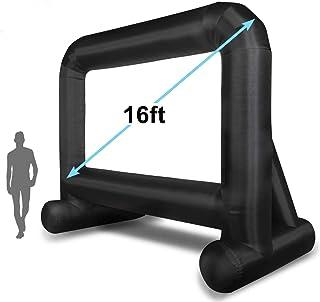 شاشة عرض قابلة للنفخ من أوتتوي على شكل ميجا للأجواء الخارجية بطول 4.8 متر