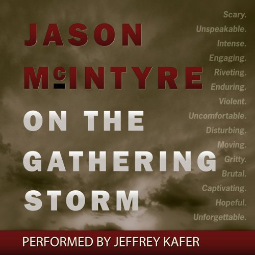 On the Gathering Storm audiobook cover art