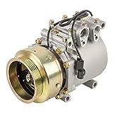 SINOCMP Compresor de aire acondicionado AKC011H201B compresor de aire acondicionado nuevo compresor de aire acondicionado AC compresor embrague Assy para Mitsubishi Mirage Eagle Summit Dodge Colt 1.8L