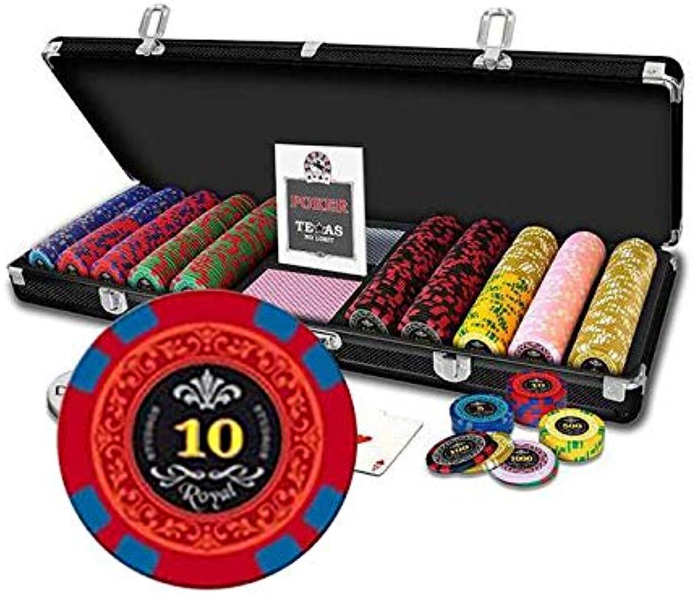 descuento Caso Poker Poker Poker Royal 500 fichas  Tienda de moda y compras online.