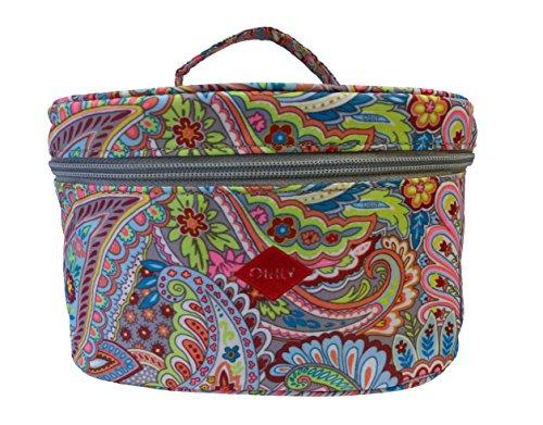 Oilily Beauty Case OCG2218-009 Ivory Damen Kulturtasche,Kosmetiktasche,Kulturbeutel (20x13x13 cm)