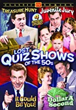Lost Quiz Shows Of The 50s: (Treasure Hunt / Juvenile Jury / Dollar A Second / It Could Be YOU!)