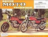 Revu Moto Technique, numéro 38 - YAMAHA : XS 500 - HONDA : CX 400 - 400C - 400E -...