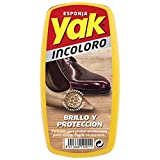 YAK esponja para calzado brillo inmediato incolora especial piel 1 ud