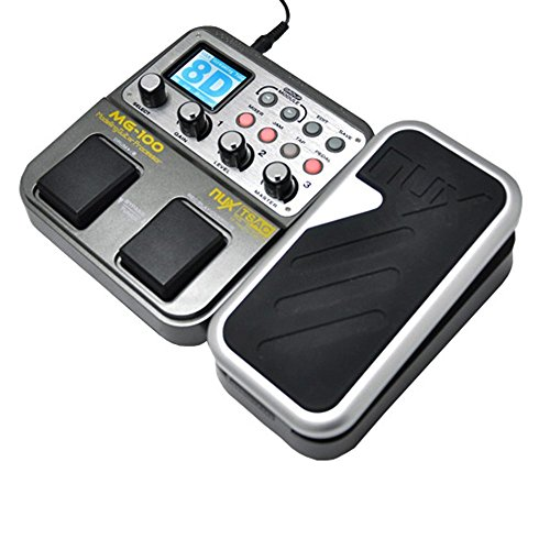 NUX MG-100 Multi Effects Pedal 56 Drum Rhythms,40 Seconds Loop,Tap Tempo