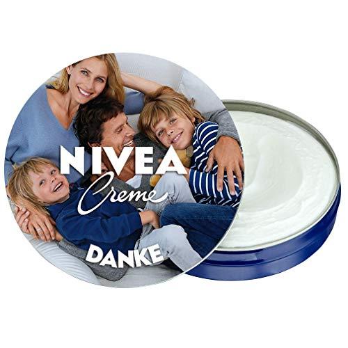 NIVEA Creme Fotodose individuell gestalten (75 ml) - Personalisiertes Geschenk zur Hochzeit, zur Geburt, zu Weihnachten oder einfach für Dich - NIVEA Creme für Schutz und Pflege