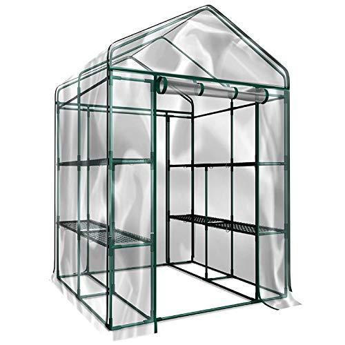 Home-Complete HC-4202 Walk-In Greenhouse- Indoor...