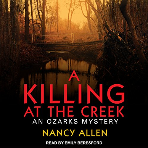 A Killing at the Creek audiobook cover art