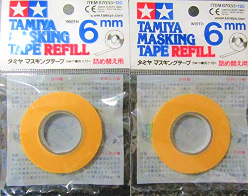 マスキングテープ 6mm詰め替え用 tm033/3個セット