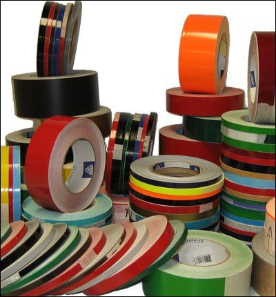 4' 3M Vinyl Striping 150' 25 Colors Available (White)