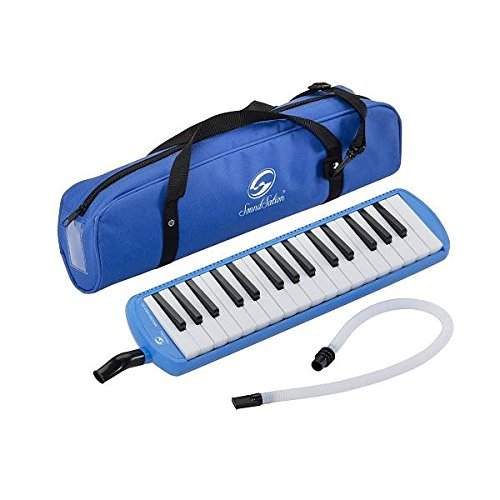 Melodica diamonica 32 tasti didattica scolastica colore BLU Melody Key 32-BL