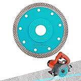 PEAKIT Fast Tile Diamond Blade 4.5 Inch Porcelain Tile Cutter Ceramic Cutting Disc Wheel for Dry Wet Tile Saw or grinder