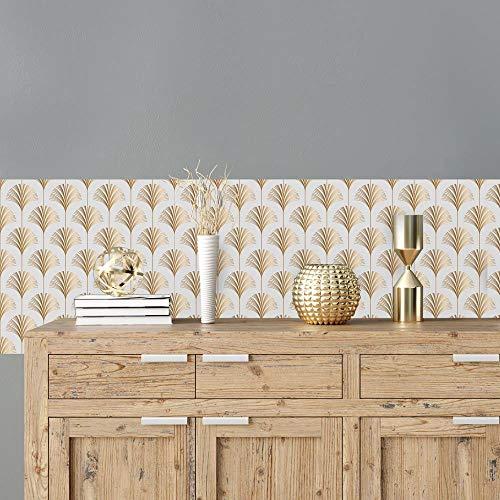 kina RA0167 Pellicole adesive per mobili e pareti, Rotoli Carta Adesiva altissima risoluzione con Varie Misure, Wrapping mobili Piastrelle tavoli armadi cucine