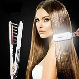 Professional Steam Hair Straightener Ceramic Vapor Ultrasonic Infrared Heating...