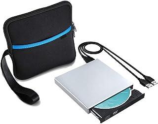 MUMUWU USB 2.0 External DVD Optical Drive CD DVD-ROM Player CD RW Burner Writer Recorder