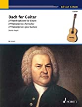 BACH FOR GUITAR: 22 TRANSCRIPTIONS