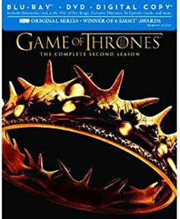 Game Of Thrones: The Complete Second Season [Edizione: Stati Uniti] (B0060MYM7O) | Amazon price tracker / tracking, Amazon price history charts, Amazon price watches, Amazon price drop alerts