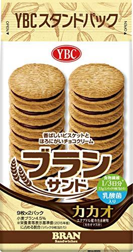ヤマザキビスケット ブランサンドカカオ 18枚×10袋