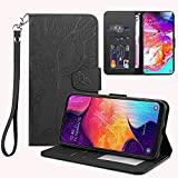 LEINUO Phone Case for Samsung Galaxy A8s Leather Wallet