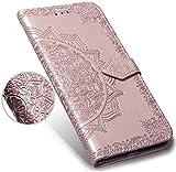 Robinsoni Cover Compatibile con Samsung Galaxy S8 Plus Case Scintillare Glitters Portafogl...