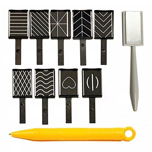 Kaxofang 11Pcs/Set Nagelkunst-Werkzeug-Magnet-Stift Für Diy Magisches Magnetisches Katzen-Augen-Polnisches Uvgel-Polnisches Katzenauge 3D