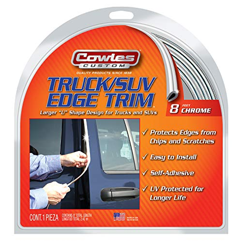 Cowles S37204 Chrome Edge Trim for Trucks and SUVs