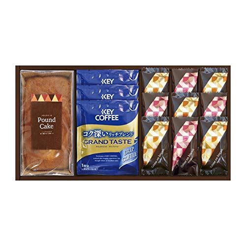 パウンドケーキ&コーヒー・洋菓子セット QA-25 【お菓子 焼き菓子 洋菓子 珈琲 ドリップコーヒー ギフトセット 来客用】
