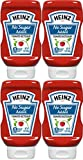Heinz Ketchup, No Sugar Added, 13 Fl. Oz. Squeeze Bottle (Pack of 4)