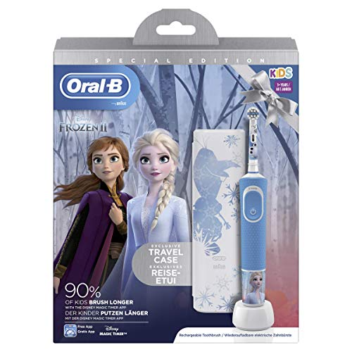 Oral-B Pro 100 Kids Electric Toothbrush, (Star Wars & Frozen) Assorted