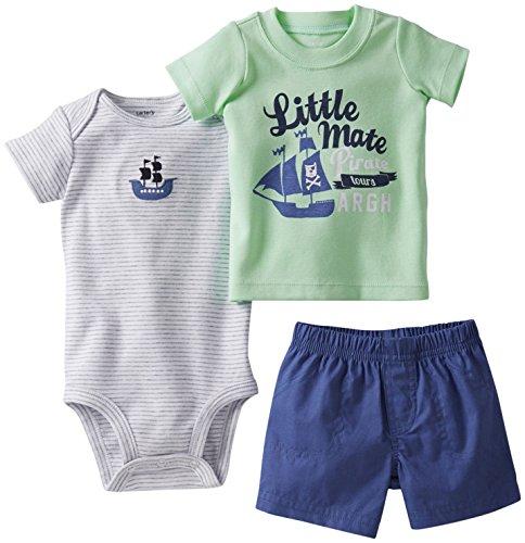 Carter's - Conjunto de 3 Piezas de Pantalones Cortos de...