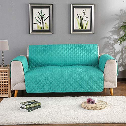 CC.Stars Fundas de sofá de poliéster y elastano, fundas de sofá de 1/2/3 asientos, para sofá, para sala de estar, silla, antideslizante, lavable, protector de muebles, 2 asientos, 130 x 195 cm