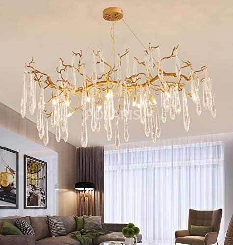 WUYUESUN Modern Brass Manufacturer regenerated Bargain sale product Crystal Fixture Lighting Chandelier Bronze