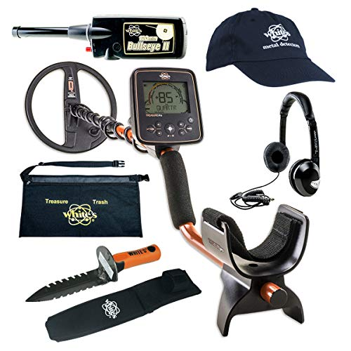 Find Discount Whites TreasurePro Metal Detector GEARED UP Bundle