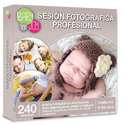 NJOY Experiences - Caja Regalo - SESION FOTOGRAFICA PROFESIONAL - Más De 240 sesiones a Escoger en España