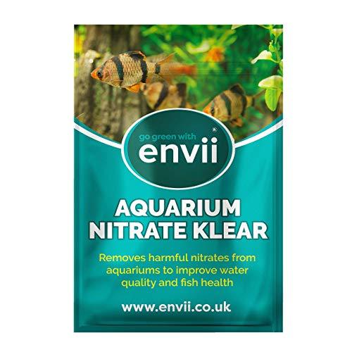 Envii Aquarium Nitrate Klear – Condizionatore per eliminare Il Nitrato dagli Acquari – Tratta 1000 L