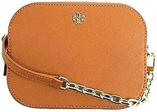 ad409d85bdc6 Tory Burch Emerson Small Round Crossbody Cardamom Leather Bag