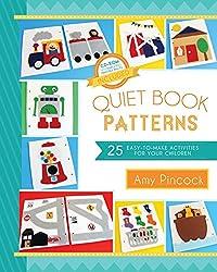 """Buchcover von """"Quiet Book Patterns"""" - Nähanleitung (englisch) für Quiet Books"""