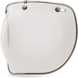 Bell 3-Snap Bubble Deluxe Shield, Clear