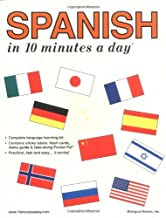 Spanish in 10 Minutes a Day® (10 Minutes a Day Series) (English and Spanish Edition)