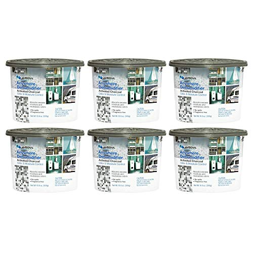 airBOSS Anywhere Dehumidifier with Activated Charcoal - Pack of 6