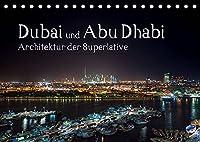 Dubai und Abu Dhabi - Architektur der Superlative (Tischkalender 2022 DIN A5 quer): Erleben Sie Architektur der Superlative. (Monatskalender, 14 Seiten )