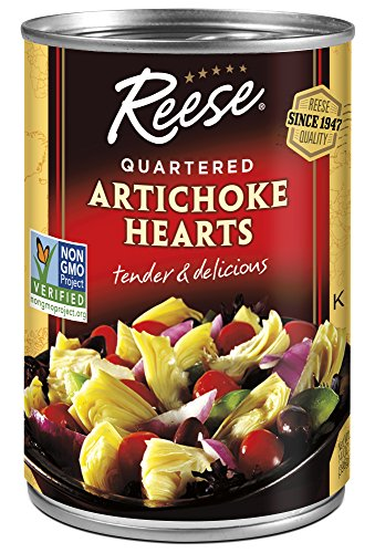 Reese Quartered Artichoke Hearts, 14-Ounces (Pack of 12)