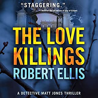 The Love Killings audiobook cover art