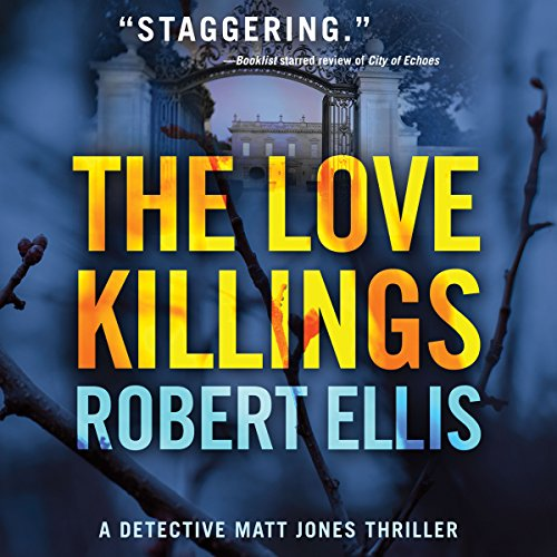 The Love Killings audiobook cover art