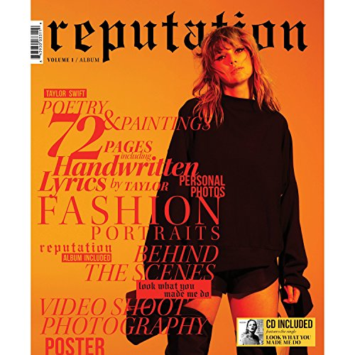 Taylor Swift REPUTATION - (Exclusive Magazine Volume 1 and Volume 2) with CD